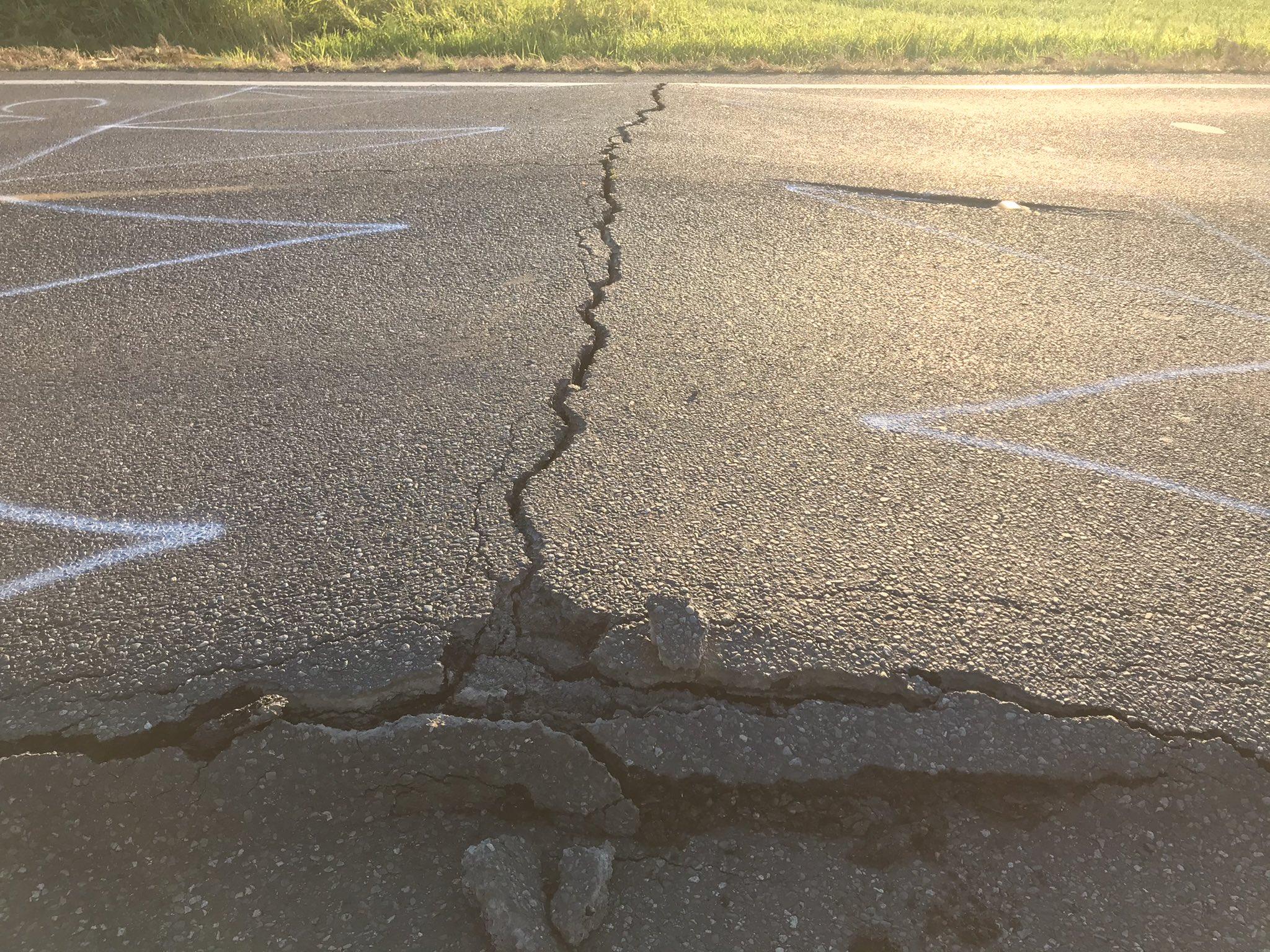 Road buckling in Washington State